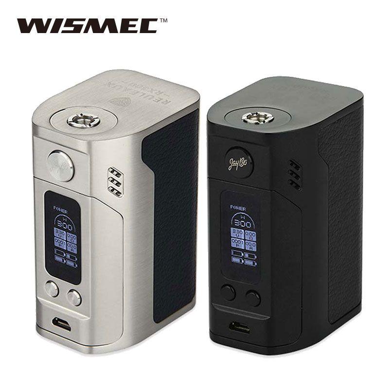 Original 300W Wismec Reuleaux RX300 Mod Reuleaux RX 300w 18650 Box Mod Rx300 VAPE E Cigarette Mod Vape RX300W Box Mod Best Price