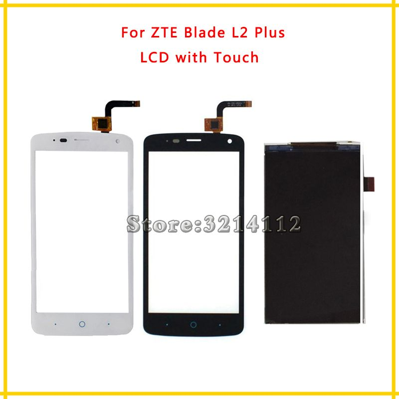 Replacement LCD Display Screen or Touch Screen Digitizer Sensor For ZTE Blade L2 Plus + Tracking Code