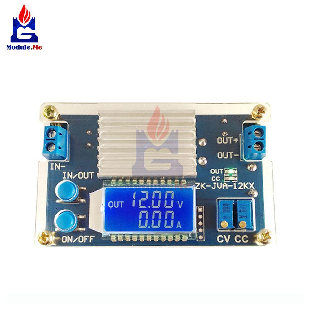 DC 0-32 v 12A Tension Constante Actuelle LCD numérique de Courant De Tension D'affichage Réglable Abaisseur Alimentation panneau de Module