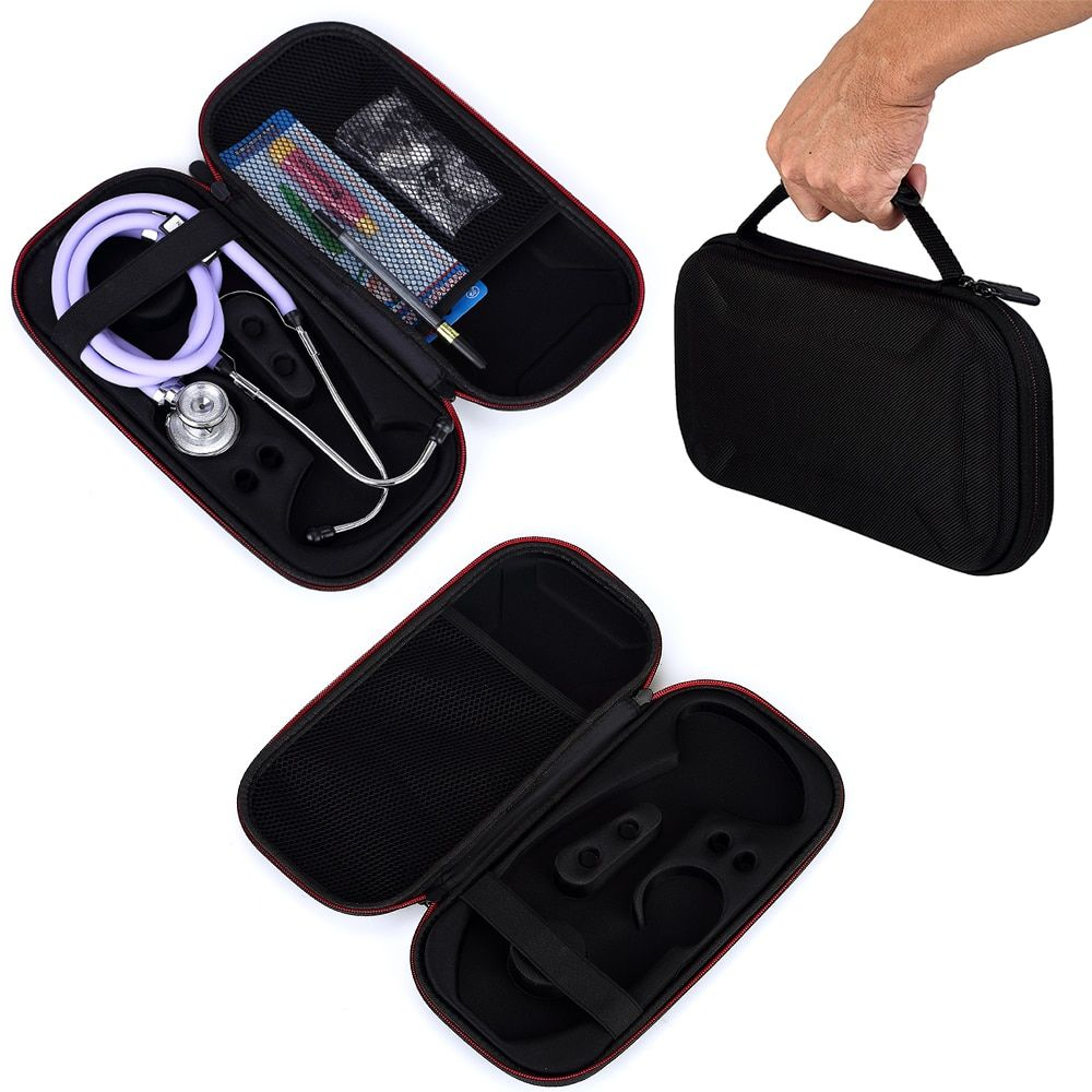 2018 New fashion Stethoscope Hard Carrying Bag Case For 3M Littmann Classic III Stethoscope-Extra Space for Other Accessories