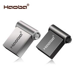 Fashion Super Mini metal usb flash drive 4GB 8GB 16GB pen Drive 32GB 64GB usb 2.0 flash stick pendrive free shipping cle usb