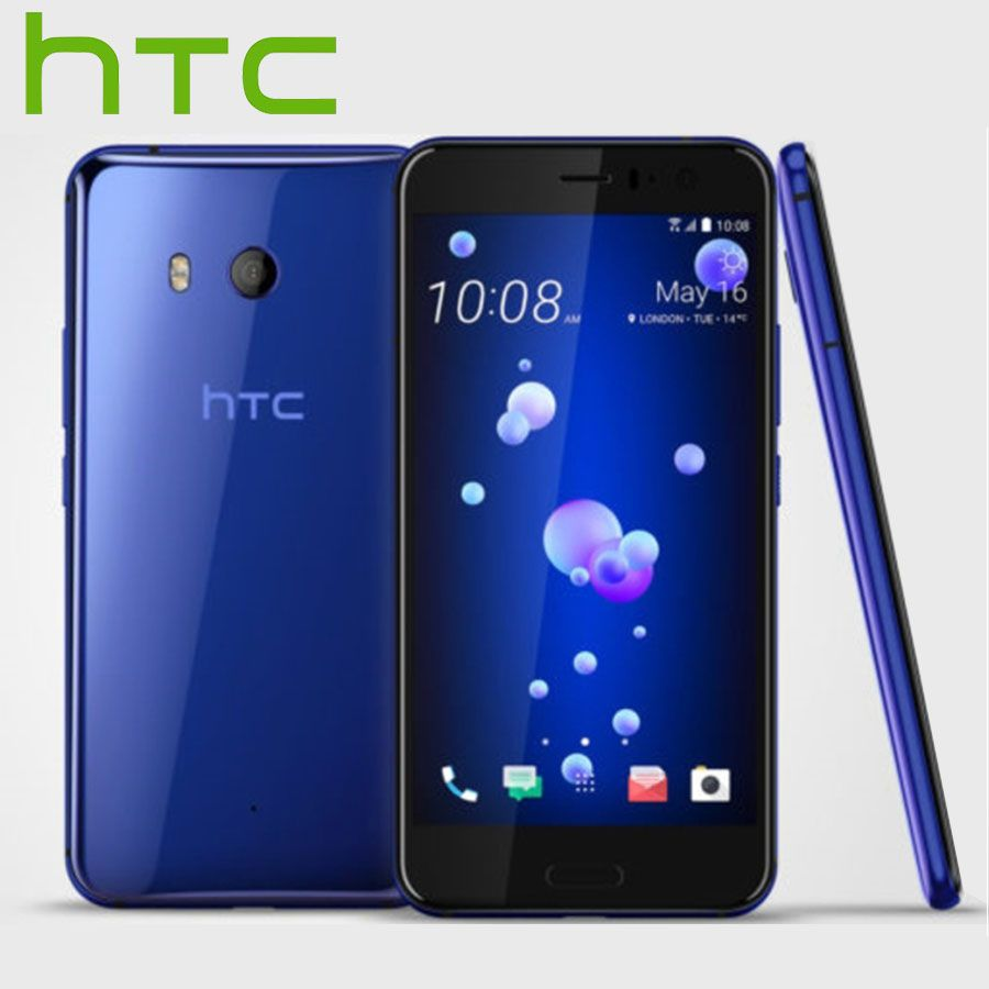 EU Version HTC U11 4G LTE Mobile Phone IP67 Snapdragon 835 Octa Core 4GB RAM 64GB ROM 5.5 inch 2560x1440P Android Smart Phone