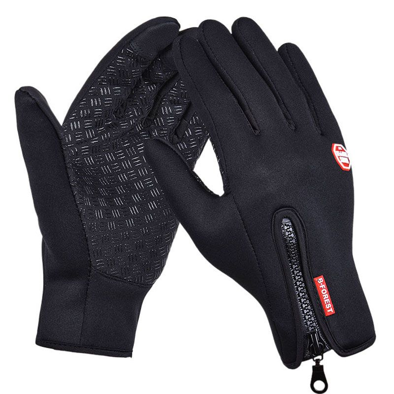 New Skiing Sports Gloves Adults Outdoor Windproof Non-slip Snowboard Bike Cycling Gloves Winter Thermal Warm Touch Screen Gloves
