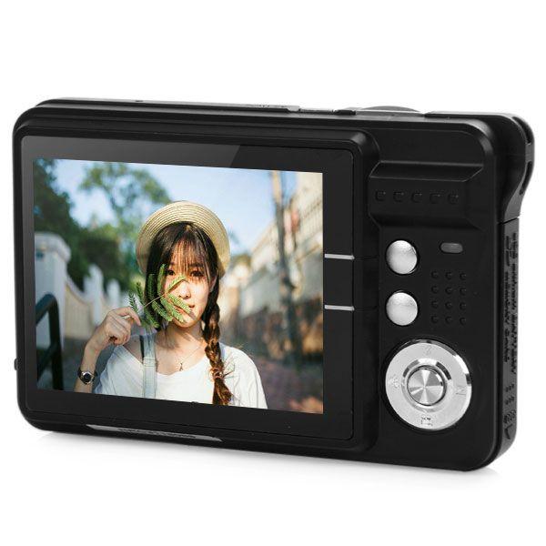 Amkov CDC3 2.7 Inch TFT HD Screen 18.0MP CMOS 3.0MP Anti-Shake 1080P Digital Video Camera With 8X Digital Zoom 1300w Pixel