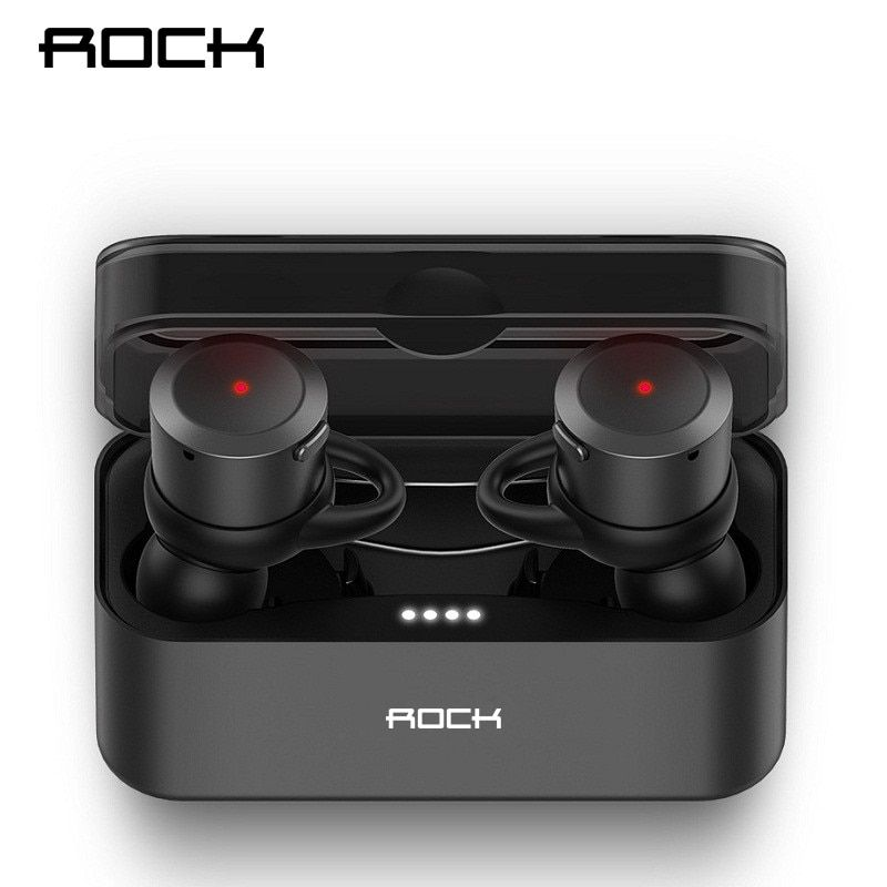 ROCK Mini Wireless Bluetooth Earphone EB10 TWS Stereo With Mic Universal Wireless Handsfree Earbuds for iphone X Samsung Xiaomi