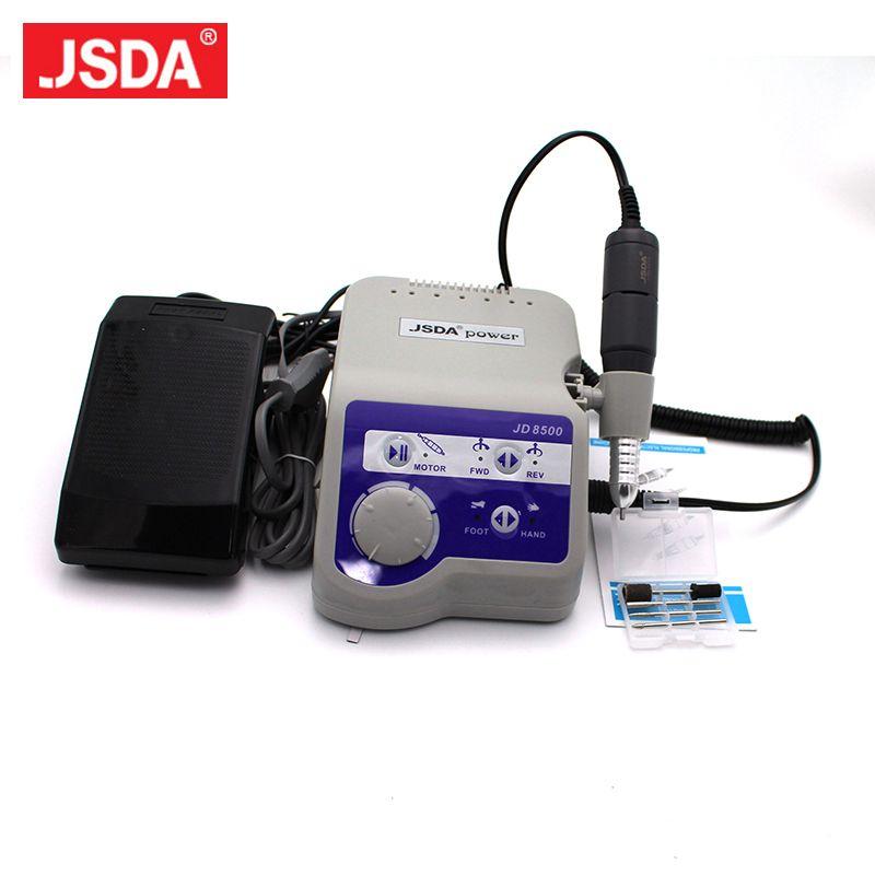 Professional 65 Watt 35000 RPM Jsda Electric Nail Manicure Pedicure Machine Polisher For Nail Art Machine 220V