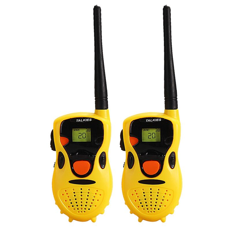 Niños y padres coordinar educativos walkie para walkie-talkie Juguetes talkie juegos de mano walkie talkies juguete para bebé niños
