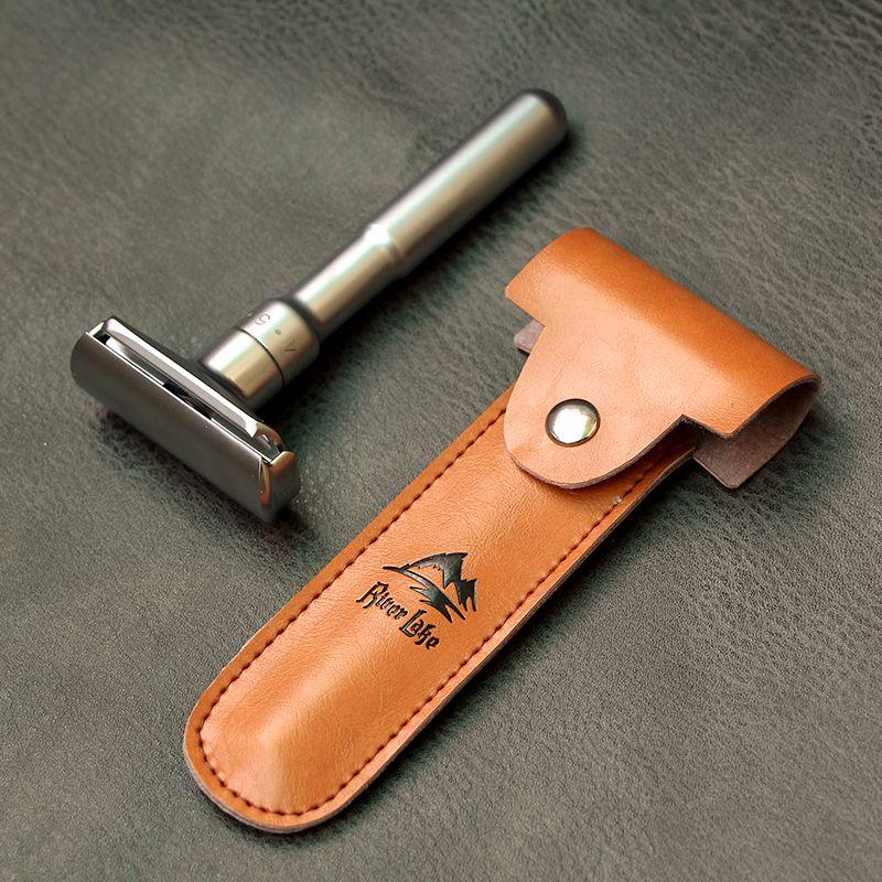 Предметы безопасности Бритвы бритвой для Для мужчин регулируемым близко бритья классический Double Edge Бритвы лезвия ножа Замена Набор для бри...