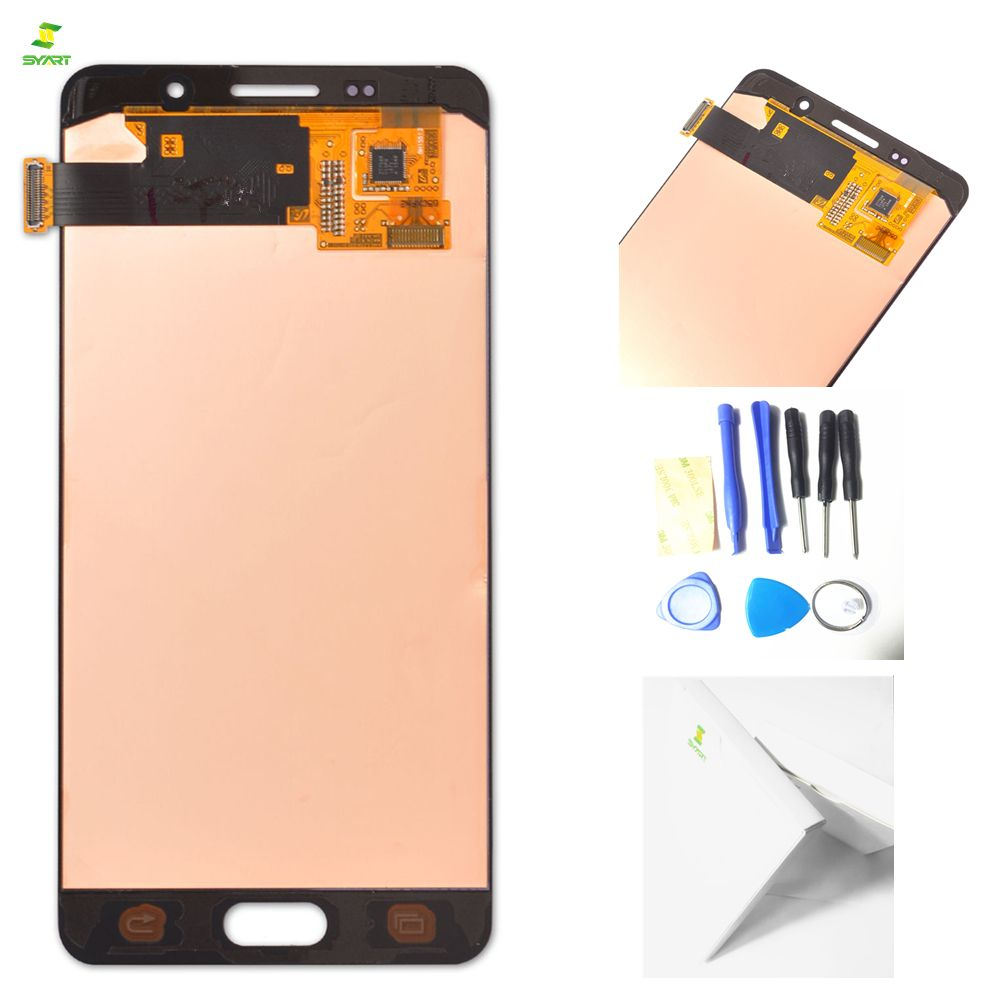 5.2'' LCDs A5 2016 A510 For SAMSUNG Galaxy A5 2016 A510 A510F A510M A510FD LCD Display with Touch Screen LCDs Digitizer Assembly