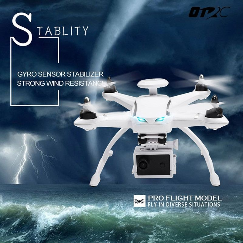 OTRC RC Drone Brushless With 1080P FPV HD Camera Helicopter 6-AXIS Gyro Headless Mode Quadcopter 2.4GHz Drone With GPS