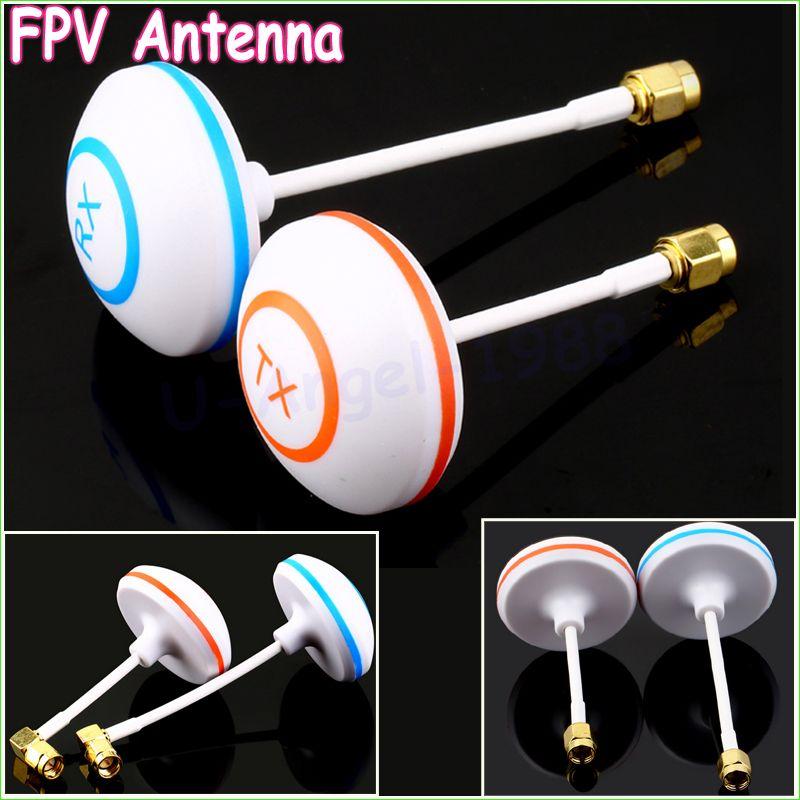 2 teile/los 5,8 GHz Zirkular Polarisierte Mushroom Antenne SMA Set Tx/Rx für FPV Luft RC (1 para)