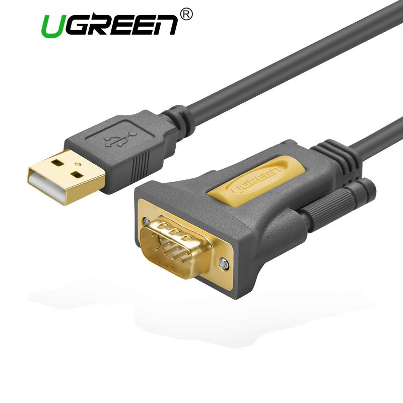 Ugreen USB Usb-rs232-com-serien PDA 9 DB9 Pin Kabel Adapter produktiver pl2303 für Windows 7 8,1 XP Vista Mac OS USB RS232 COM