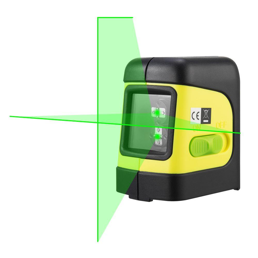 <font><b>Firecore</b></font> F112G 2 Lines Green Laser Level Self Levelling ( 4 degrees) Horizontal and Vertical Cross-Line Mini Laser
