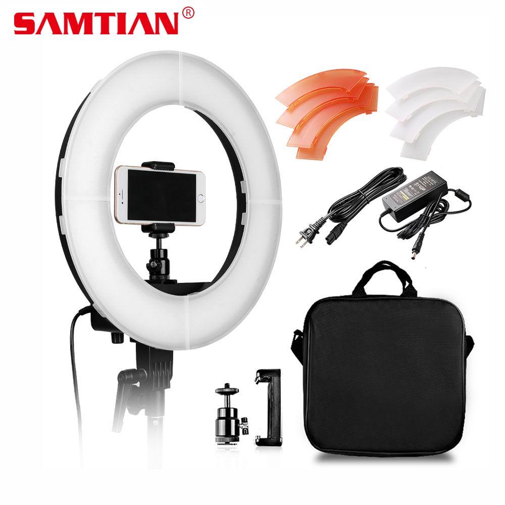 SAMTIAN Camera Photo/Studio/Phone/Video Lighting 12