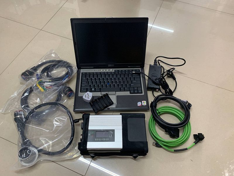 2019 MB Star C5 SD Connect sd c5 with Laptop D630 (4g) Diagnosis Software SSD hdd 2019.05v DAS DTS for Mb Star C5 Cars & Trucks