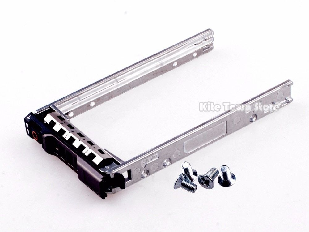New SAS SATA Tray Caddy For Dell 2.5 R710 R410 R610 T410 T610 SFF HDD G176J 0G176J Free Shipping