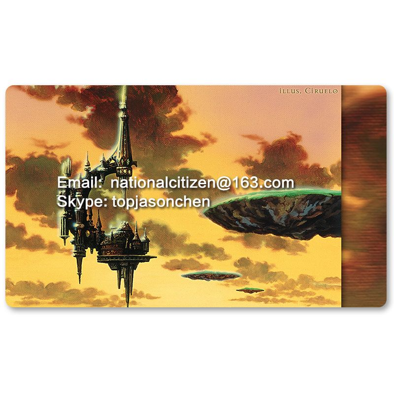 Many Playmat Choices -Serra'S Sanctum- MTG Board Game Mat Table Mat for Magical Mouse Mat the Gathering 60 x 35CM