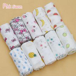 Cisne Rosa 100% algodón muselina mantas cama infantil swaddle toalla multifunct sobres para recién nacidos mantas swaddle abrigo del bebé