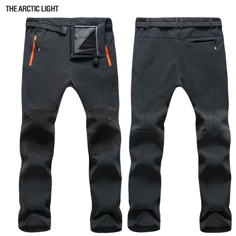 La lumière arctique hiver extérieur coupe-vent Snowboard Ski pantalon hommes neige pantalon imperméable coupe-vent chaud respirant