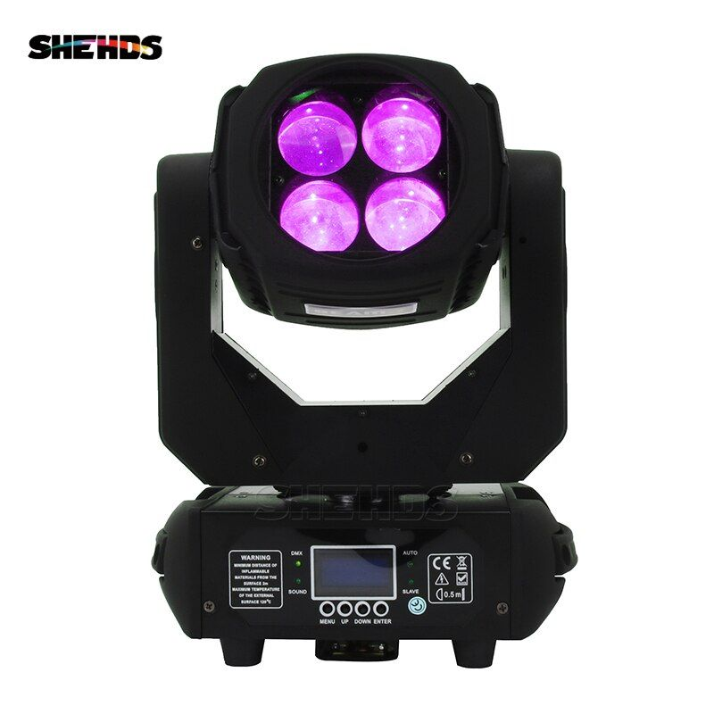 2pcs/lot LED 4x25W Super Beam Moving Head LED Beam Light Perfect Effect Light For DJ Disco Party Clubs Lighting Fast Shipping