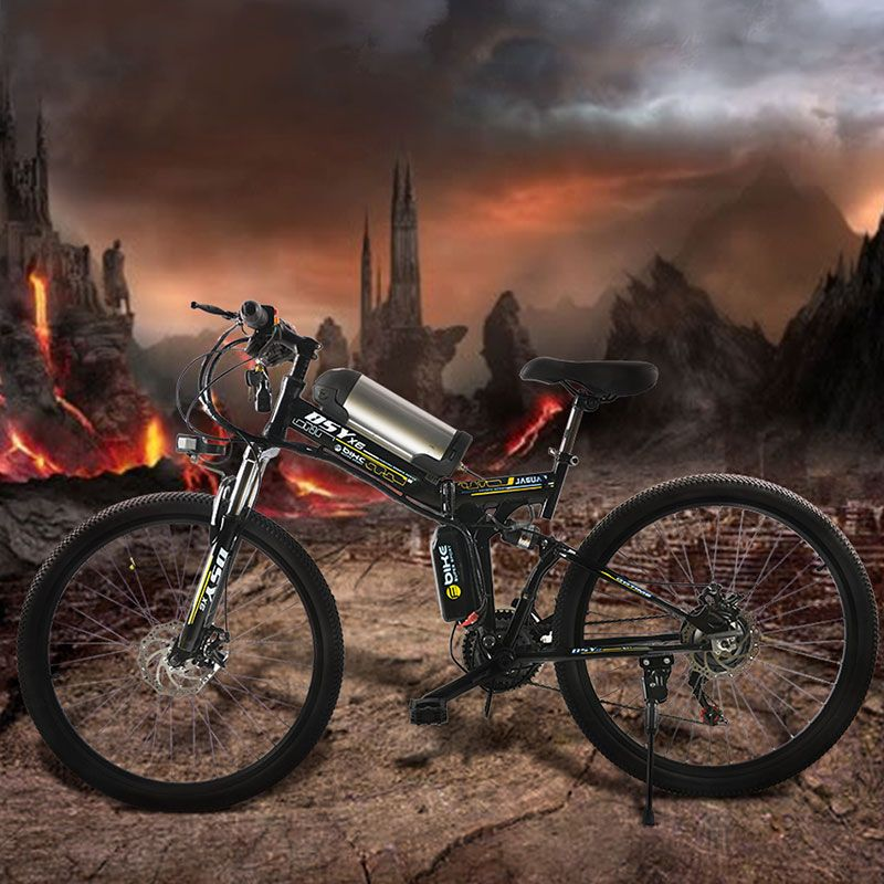 350 Watt leistungsstarke electric36V 10.8ah Lithium-Batterie E fahrrad 26 * 1,95 faltbare elektro-fahrrad neue Unisex folding Radfahren ebike