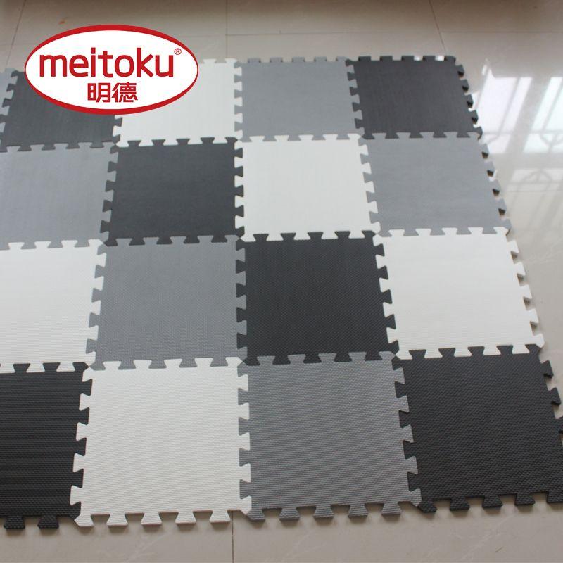 Meitoku bébé EVA De Jeu En Mousse Tapis De Puzzle pour enfants/en Exercice Tuiles de Plancher Tapis Tapis, chaque 32X32 cm, 18 ou 24 pc dans un sac