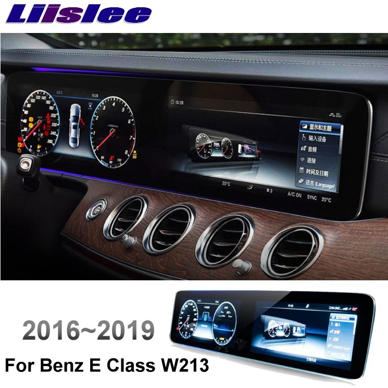 Liislee Auto Multimedia Player NAVI + CarPlay Für Mercedes Benz MB E Klasse W213 E200 E300 2016 ~ 2019 Auto radio GPS KARTE Navigation