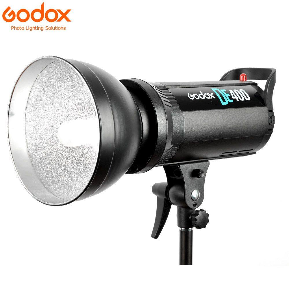 Godox DE400 400 W Pro Studio DE photographie lumière stroboscopique Flash lampe tête DE série 220 V pour mariage/publicité/mode tir