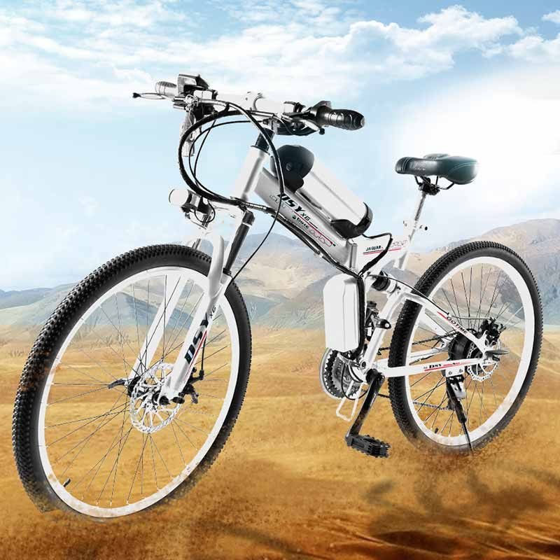 Dis-far 26-inch electric bicycle 36v350w folding electric vehicle mountain bike lithium battery electric car battery powered car