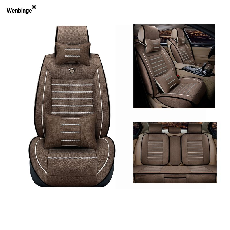Breathable car seat covers For Honda Accord FIT CITY CR-V XR-V Odyssey Element Pilot URV car accessories auto styling