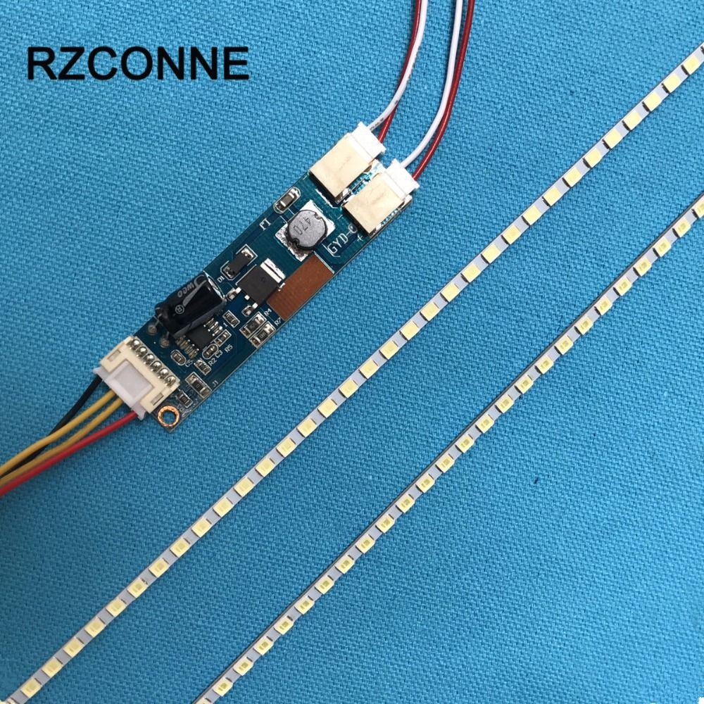 395mm brillo Ajustable LLEVÓ Kit Franja de luz de lámpara de luz de Fondo, Actualización 19