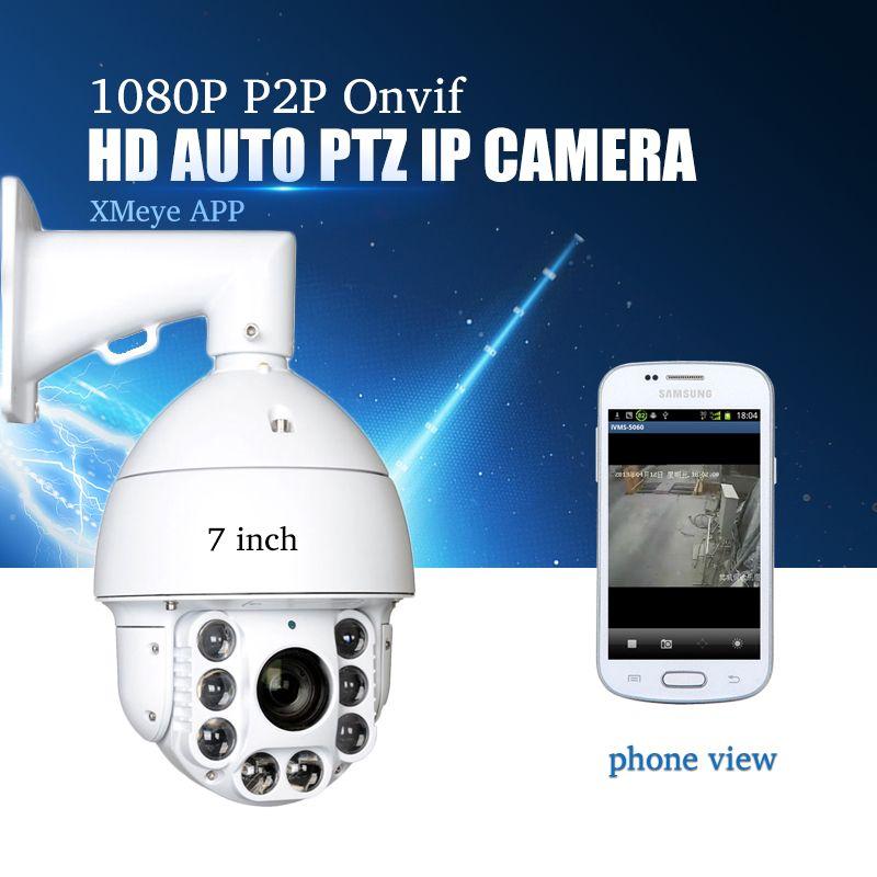 YiiSPO Cctv-kamera IP 20X Zoom Kamera High Speed Dome Netzwerk 1080 P 960 P Auto ZOOM PTZ Ip-kamera ONVIF XMeye P2P wasserdicht