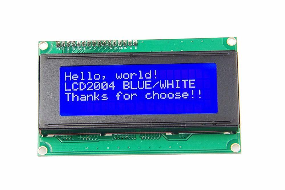 Nouveau Module LCD 20x4 caractères écran LCD 2004 caractères 5 V série IIC/I2C/TWI pour Arduino UNO R3 MEGA2560 Nano
