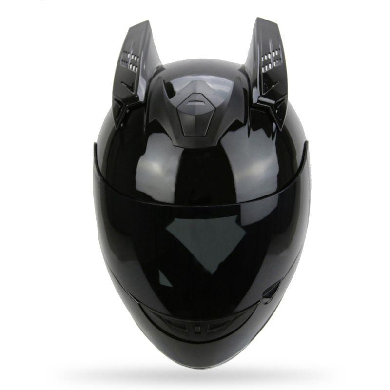 Motorcycle Helmet Horns Punk Style Scooter Motorbike Helmet Horn Moto Accessories For KTM AGV ICOM ARAI TANKED SHARK YOHE