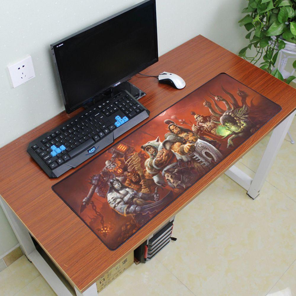 900x300mm große gaming-mauspad laptop tabletten mauspads rastkante notebook mechanische tastatur maus pads für dota2