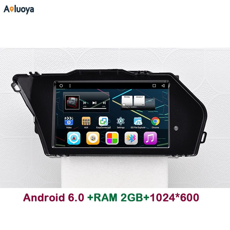 Aoluoya 2GB RAM Android 6.0 CAR DVD Radio GPS Navigation FOR Mercedes Benz GLK X204 2013 2014 2015 2016 Audio video player WIFI