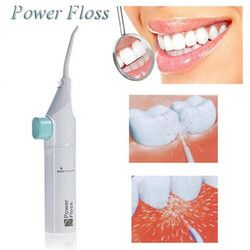 1 Pcs Power Floss Dental Hygiene Dental Water Flosser Jet Cleaning Tooth Mouth Denture Cleaner Whitening Irrigator