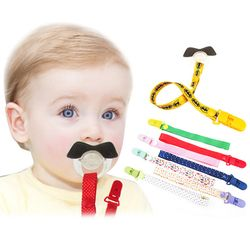 New Adjust Baby Pacifier Clip Chain Ribbon Holder Chupetas Soother Pacifier Clips Leash Strap Nipple Holder For Infant Feeding