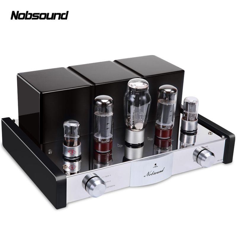Nobsound MS-50D Bluetooth 4,0 APT-X Leistungsverstärker Klasse A Single-Ended EL34B Vakuumröhre Hallo-fi Stereo Lossless Audio Verstärker