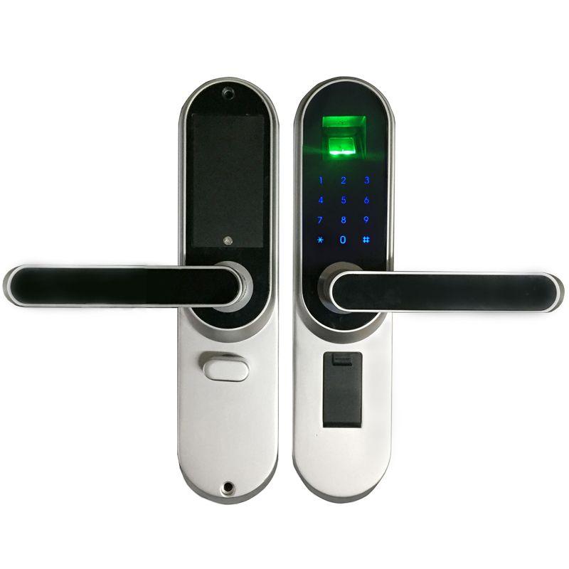 Отпечатков пальцев Электронная smart lock, код Сенсорный экран цифровой пароль lock LK01