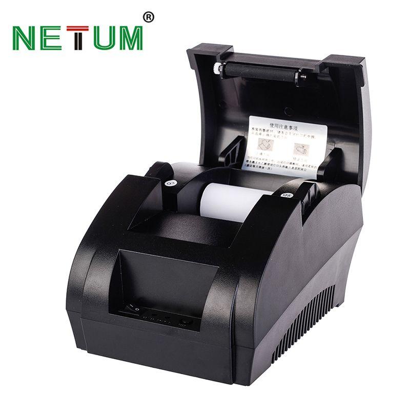 Thermobondrucker 58mm Thermodrucker USB für POS System Supermarkt NT-5890K