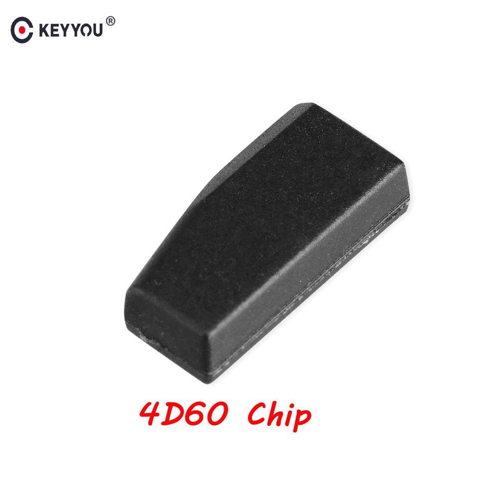 KEYYOU 1 stücke Für Ford 4D60 ID60 Für Ford Fiesta Verbinden Fokus Mondeo Ka 40 Bits Blank Carbon Chip Auto carbon Transponder Chip