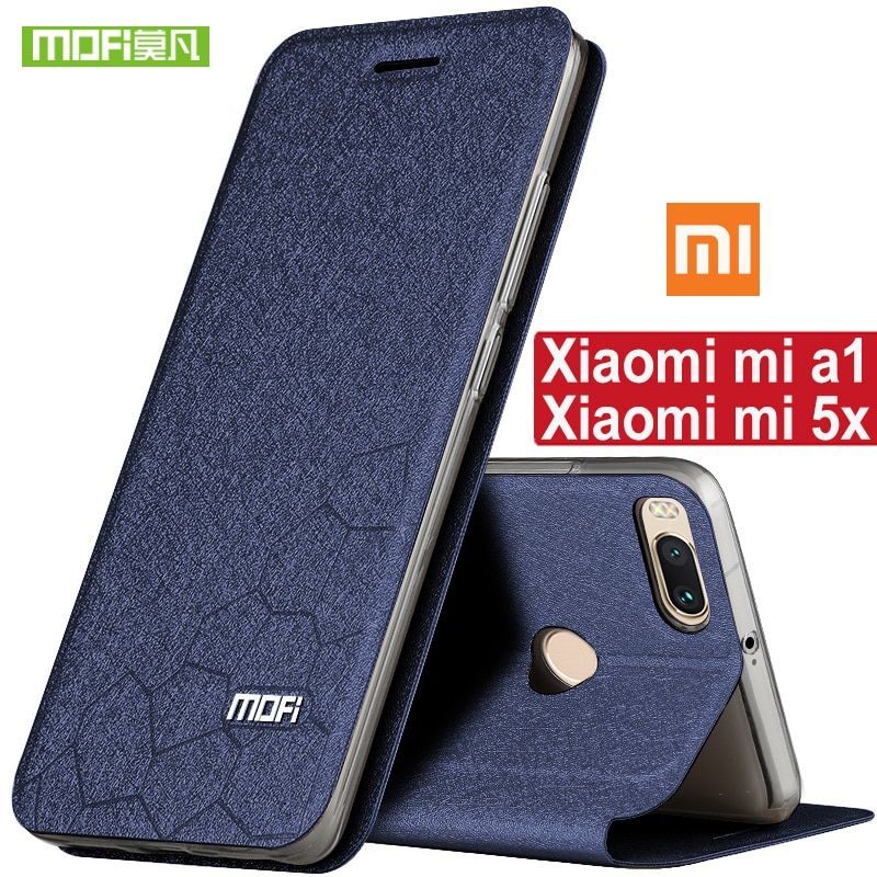For Xiaomi Mi5X case silicone cover luxury TPU mi A1 case original MOFI for Xiaomi mi 5X case Xiomi MiA1 case 360 shockproof