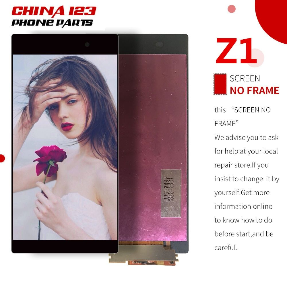 5pcs 10pcs Touch Screen For Sony Xperia Z1 L39H C6902 C6903 LCD Display Digitizer Sensor Glass Panel Assembly 5.0 inch 1920*1080