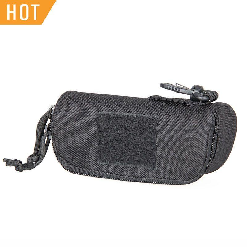 Livraison gratuite E.T Dragon Portable lunettes de soleil lunettes étui de transport poche militaire Molle 1000D Nylon antichoc étanche PP6-0100