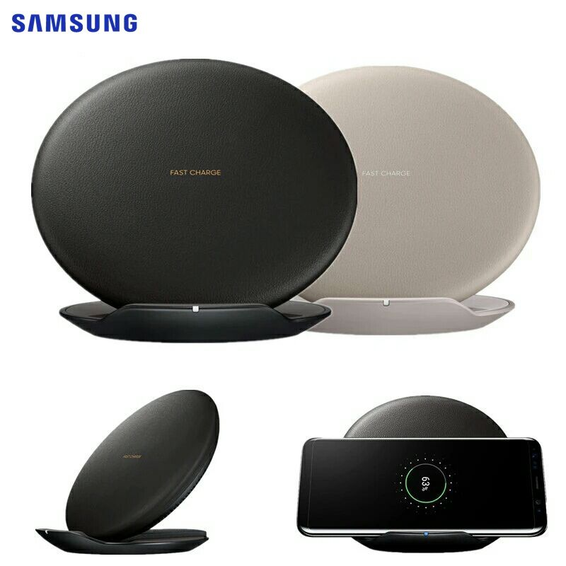 SAMSUNG 100% Original Genuine Qi Fast Wireless Charger for SAMSUNG GALAXY S8 SM-G950U SM-G9508 S8+ G955 Note 8 iPhone X EP-PG950