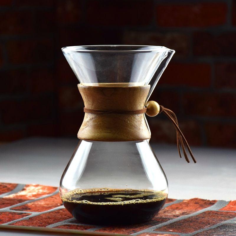 Nouveauté 3-6 tasses compté Syphon café goutte à goutte Pot à glaçons machine à goutte chaud brasseur Barista percolateur Pot