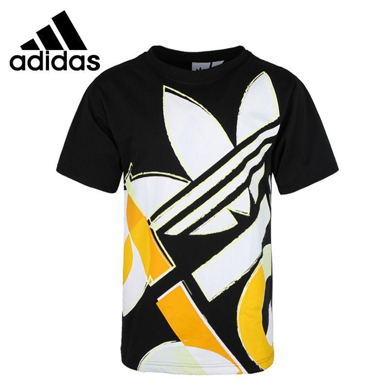 Nouveauté originale Adidas originaux gras graphique T T-shirts homme manches courtes Sportswear