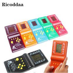 Childhood Reminiscence Classical Tetris Brick Game Handheld Game Machine Kids Game Machine Mini Toys Best Gift For Children