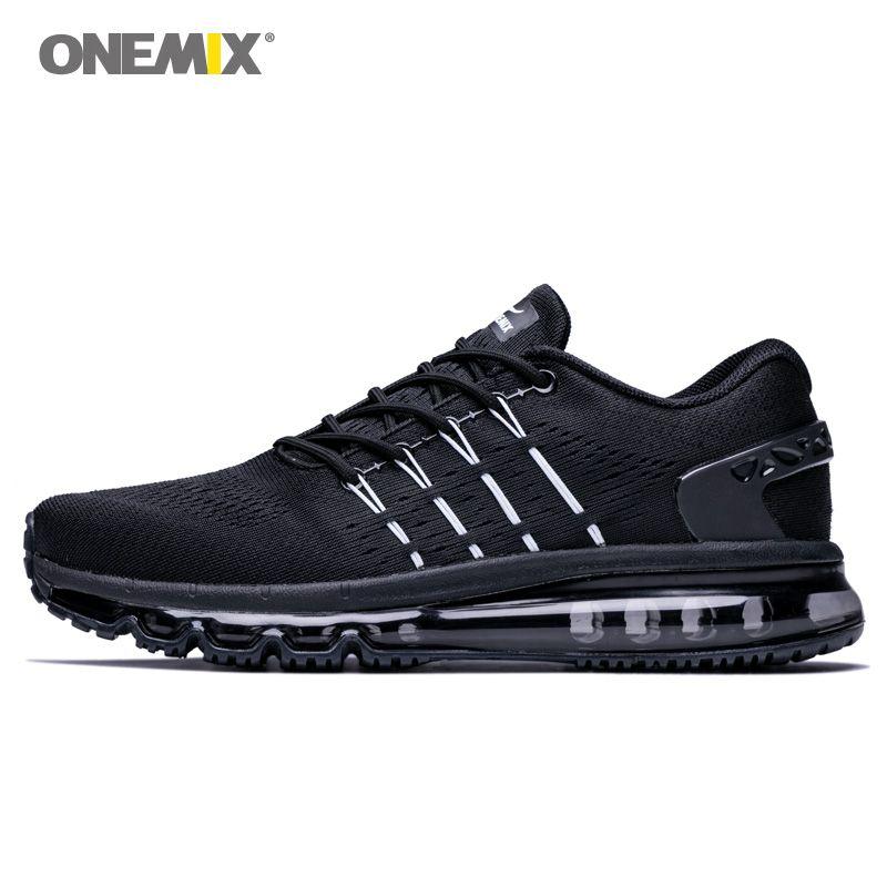ONEMIX chaussures de course Pour Hommes chaussures air Sports de Plein Air Lumière Tampon chaussures de marche baskets professionnelles Homens chaussures de course